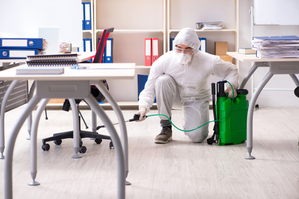 What a Disinfection Service Entails at Your Office